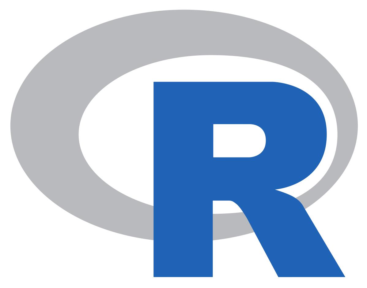 Plot the new SVG R logo with ggplot2