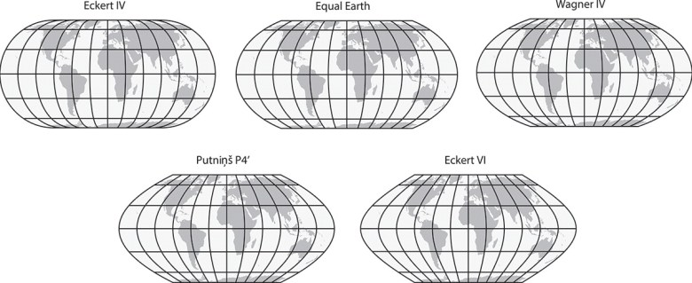 Quick Hit: Using the New Equal Earth Projection in R