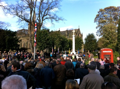 Remembrance Day Services @ War Memorial & St Peter's Church | Ruddington | England | United Kingdom