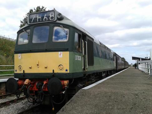 Diesel Train Rides @ Great Central Railway | Ruddington | England | United Kingdom