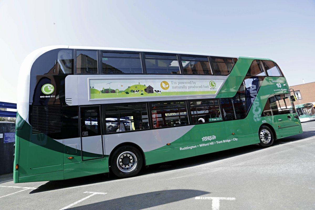 eco buses for green 10 service – ruddington