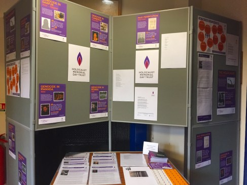 Holocaust Memorial Day Display @ St Peter's Rooms