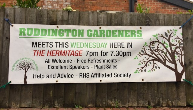 Ruddington Gardeners' Association @ The Hermitage, | Ruddington | England | United Kingdom