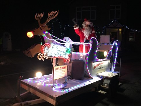 Santa On His Sleigh @ Touring Ruddington | Ruddington | England | United Kingdom
