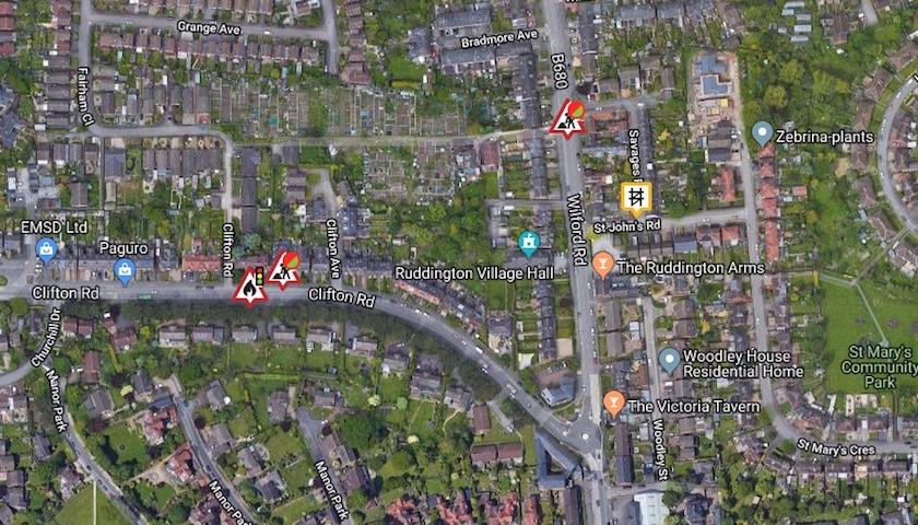 More Ruddington Roadworks – RUDDINGTON info