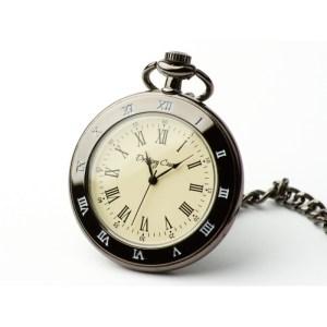 Zegarek kieszonkowy – Czarny klasyk