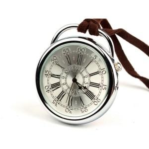 Podróżnik w czasie I silver – zegarek kieszonkowy