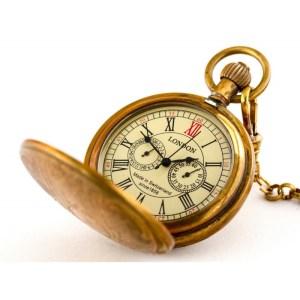 Złota busola I – zegarek kieszonkowy