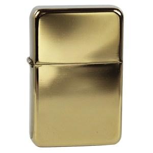Zapalniczka benzynowa Tasman – golden polished