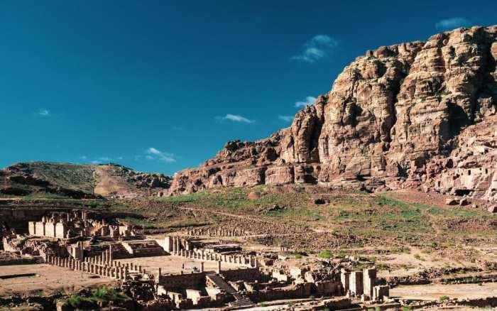 pozostalosci rzymskie w Petrze