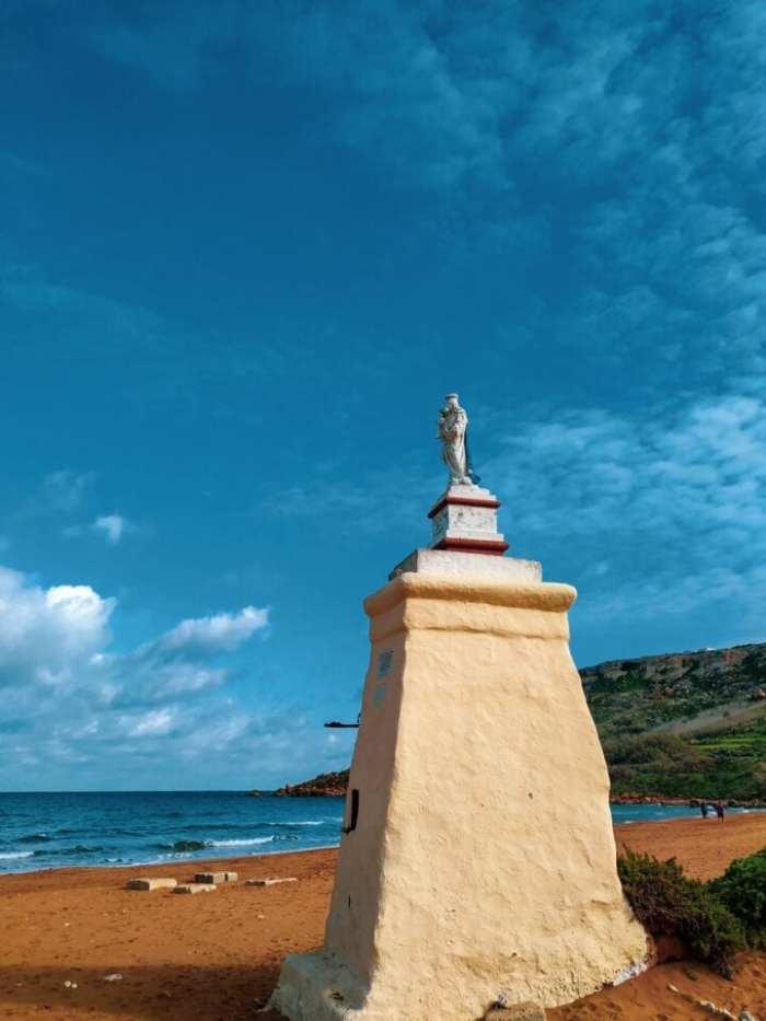 ramla beach na gozo