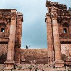 zwiedzanie-jordanii-ruiny-jerash