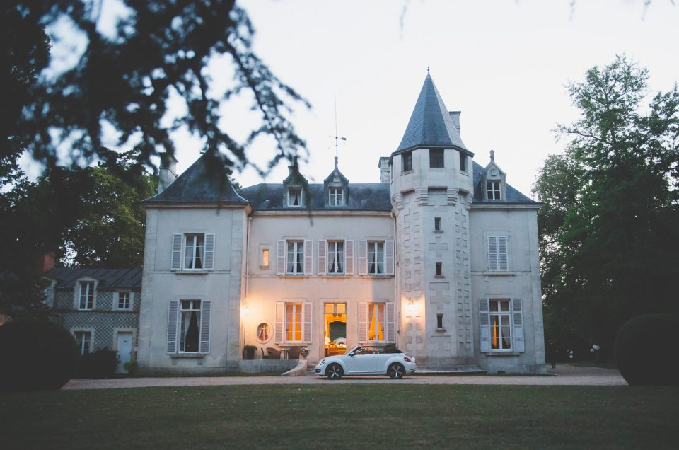 Aleksandra i Erwan   Vierzon – Château de Fay Ślub we Francji