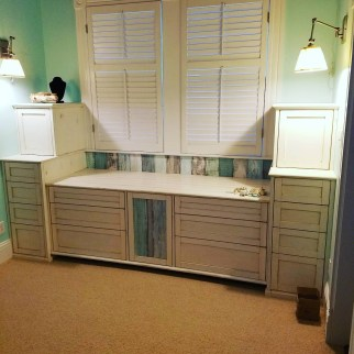 Built-In Pine Cabinet, Key West, 2017