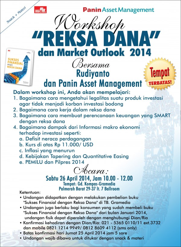Workshop Reksa Dana Jakarta April 2014
