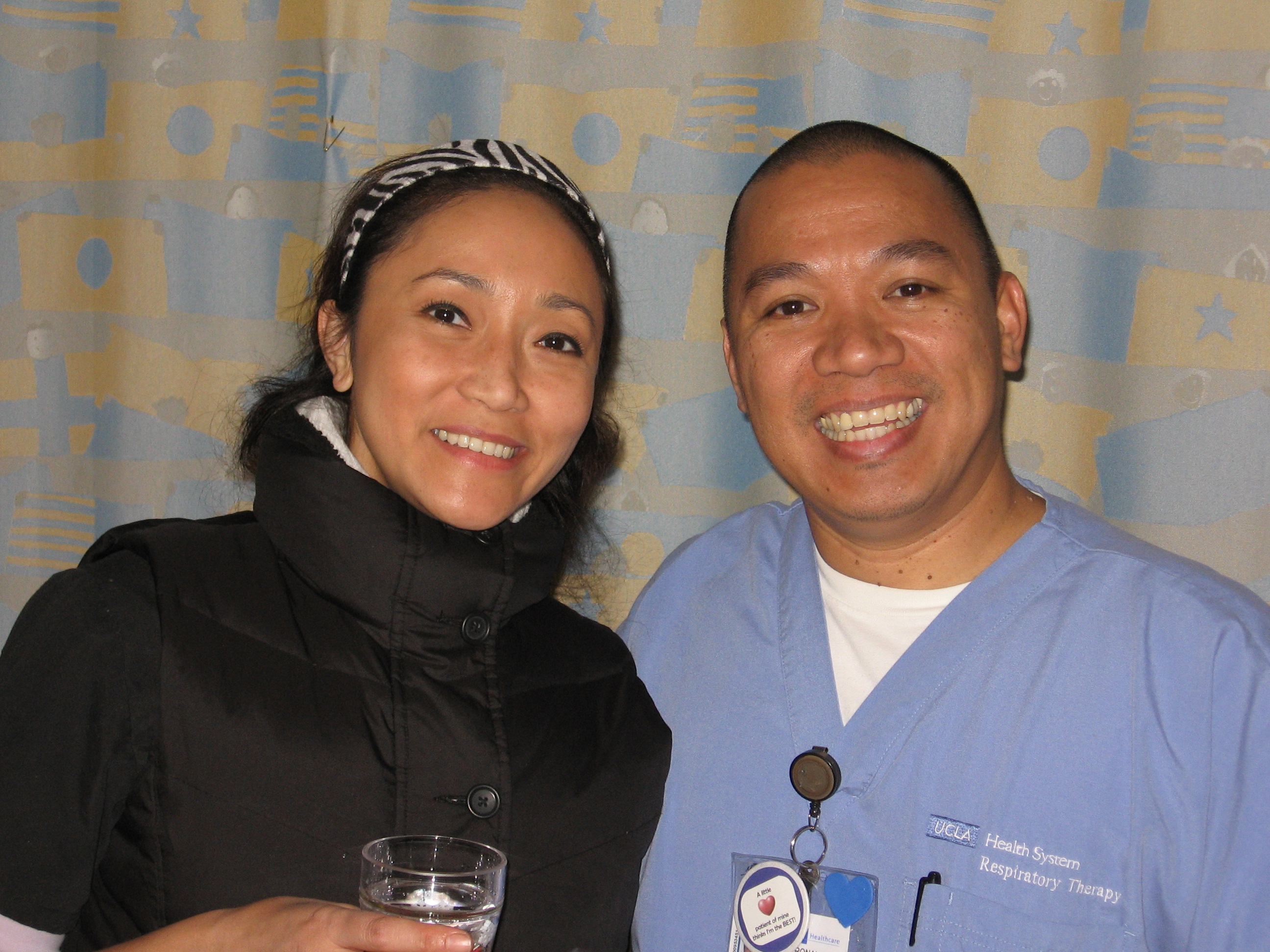 Nurse Aileen and RT Ron