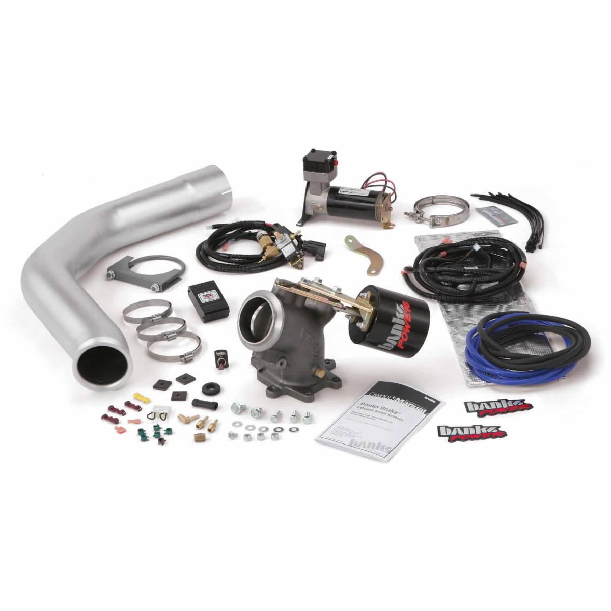 banks power brake exhaust braking system 99 99 5 ford 7 3l stock exhaust