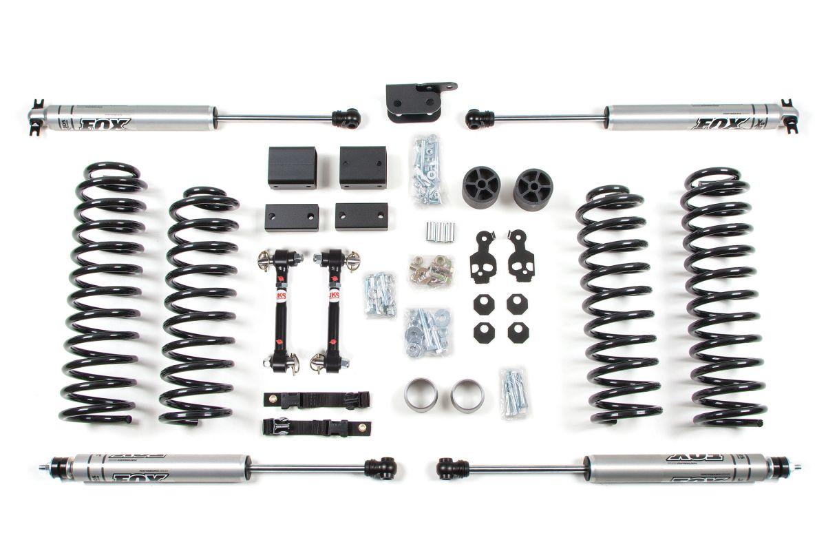 Bds 3 Lift Kit With Nx2 Shocks For 12 18 Jeep Wrangler Jk