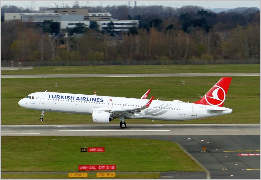Airbus A320 Turkish Airlines DUS