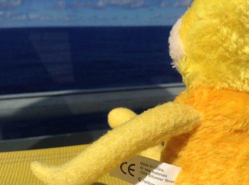 Aha, geht doch mit dem Wetter, blaues Meer!