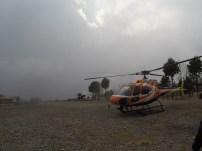 Arriving in Lukla