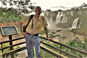 Who is actually writing here? Ruedi in Iguazu/Brazil 2019