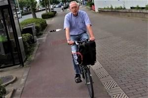 Wer schreibt hier eigentlich? Ruedi unterwegs mit dem Fahrrad in Kyoto/Japan 2015