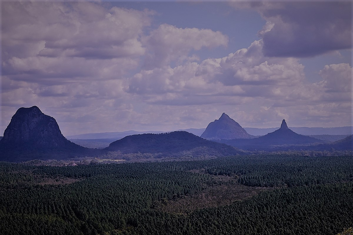 Glasshouse Mountains Queensland Australia
