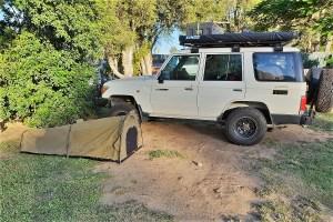 Campingplatz nahe Brisbane