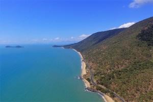 Küstenstraße am Pazifik nördlich Cairns, Australien