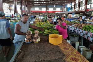 Markthalle in Lautoka Fidschi