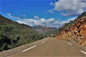 Strasse in den Bergen Neukaledonien