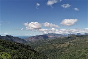 Mountains in New Caledonia