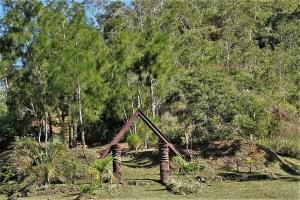New Caledonia Kanak hut