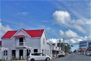 street in Nukuʻalofa Tonga Tonga