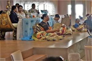 wedding party on Tonga