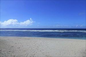 Strand und Meer Tonga