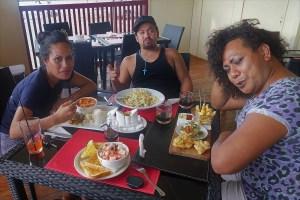 lunch time in Nukuʻalofa Tonga