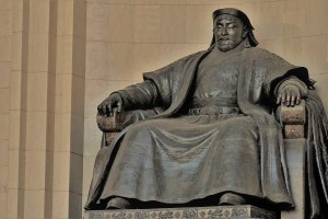 Genghis Khan statue Ulaanbaatar