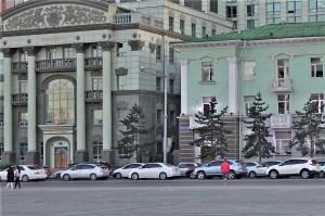Altes Gebäude in Ulaanbaatar