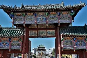 Gandan Kloster Ulaanbaatar