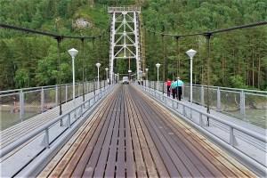 Brücke über den Katun