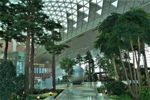Abflughalle Flughafen Seoul