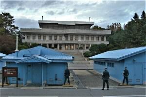 Innerkoreanische Grenze Panmunjom