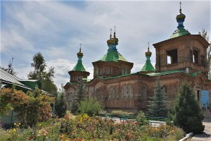 Russisch-orthodoxe Kirche in Karakol