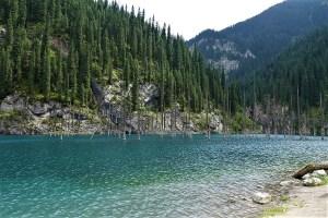 Kaindy Lake Kazakhstan