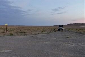 Landcruiser in der kasachischen Steppe