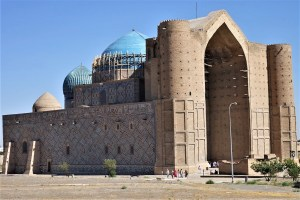 Turkistan, Mausoleum of Khoja Ahmed Yasawi