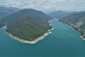 Zhinvali reservoir, Georgia