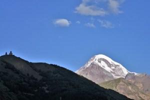Mount Kazbek, Georgien